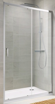 Koller Pool TD120G Душевая дверь TREND двухсекционная 1200x1900 мм стекло grape - TD120G