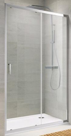 Koller Pool TD120C Душевая дверь TREND двухсекционная 1200x1900 мм стекло прозрачное - TD120C