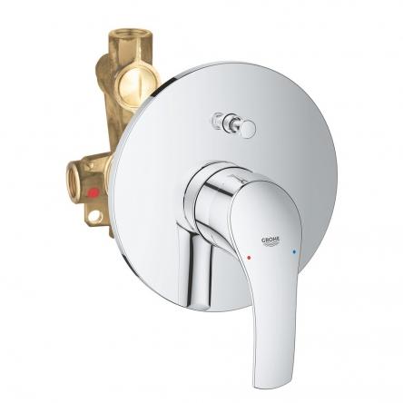 Grohe EUROSMART New смеситель для ванны, однорычажный, встраиваемый без излива - 33305002
