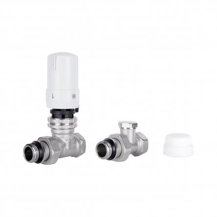 """Комплект термостатичний SD Plus 1/2"""" для радіатора прямий SD353W15"""