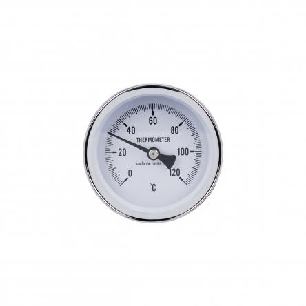 """Термометр SD Plus 120?C 63х1/2"""", заднє підмикання SD17450MM"""