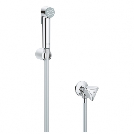 Grohe TEMPESTA-F Trigger Spray 30 душевой набор с угловым вентилем, 1 вид струи, хром - 27514001