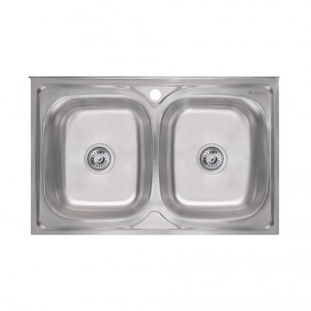 Кухонна мийка Imperial 5080 Satin (IMP5080SATD)