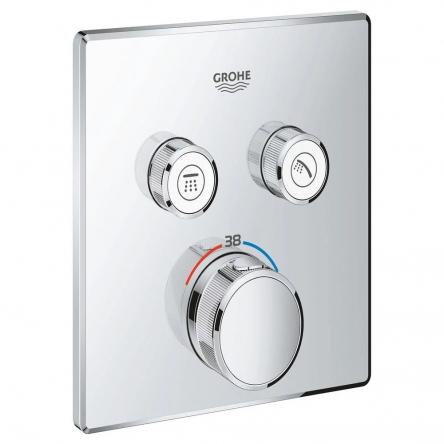 Grohe GROHTHERM SmartControl термостат для душа, внешняя часть, на 2 потребителя - 29124000
