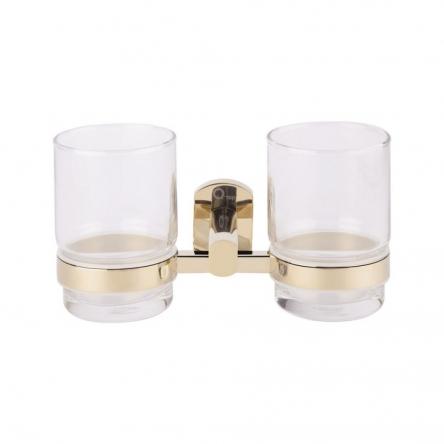 Склянка подвійна Qtap Liberty ORO 1155