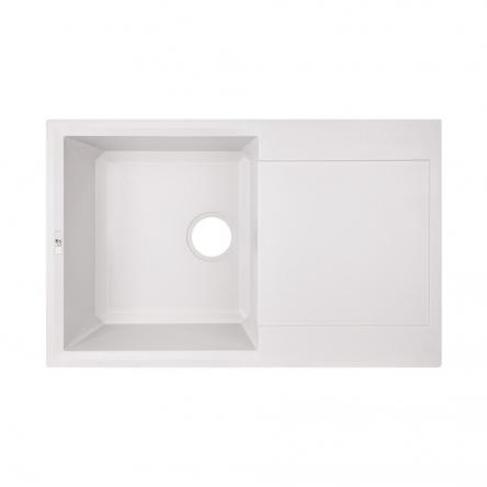 Кухонна мийка Lidz 790x495/230 WHI-01 (LIDZWHI01790495230)