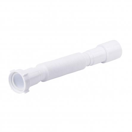 """Гнучка труба Lidz (WHI) 60 01 G002 00з накидною гайкою1 1/2""""довжина600мм"""