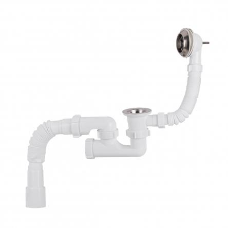 Сифон для ванни Lidz (WHI) 60 03 V002 00