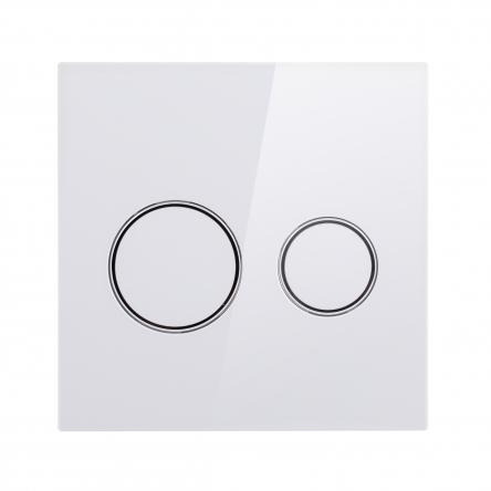 Панель змиву для унітаза Qtap Nest UNI QT0211P01V1176W