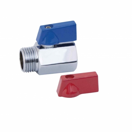 """Кран кульовий SD Plus """"Mini"""" 1/2"""" ВЗ SD188W15"""
