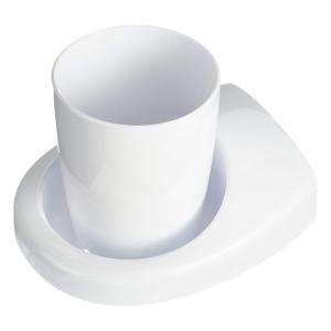Haceka Uno Стакан д/зубных щеток одинарный, пластик (407904)