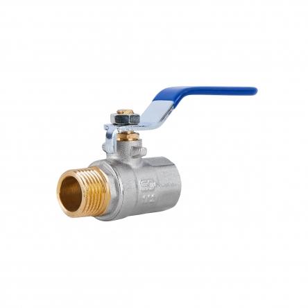 """Кран кульовий SD Plus 1/2"""" ВЗ для води (важіль) SD605W15"""