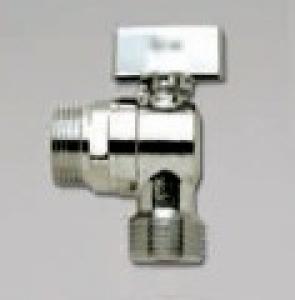 Luxor Кран приборный хром стир. маш. проходной ВН 1/2х1/2х3/4