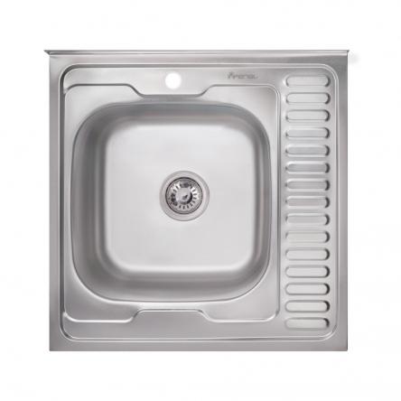 Кухонна мийка Imperial 6060-L Satin (IMP6060L06SAT)