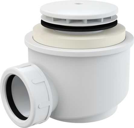 Alcaplast Сифон для душевого поддона белый d50 (A47B-50)