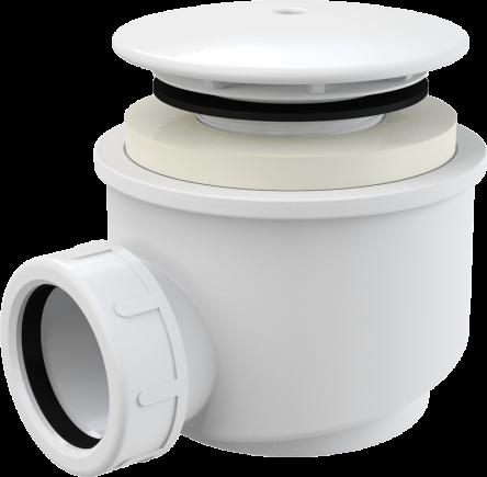 Alcaplast Сифон для душевого поддона белый d60 (A47B-60)