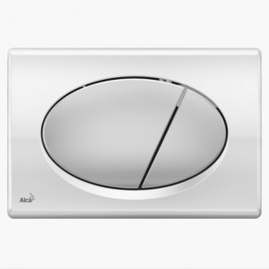 Alcaplast Кнопка управления M73(хром-глянцевая/матовая)