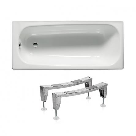 Roca Комплект: CONTESA ванна 170*70см прямоугольная + ножки - A235860000+A291021000