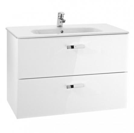 Roca VICTORIA шкафчик с умывальником 100см, белый - A855851806