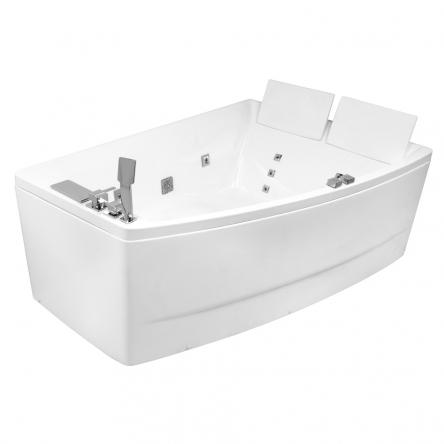 VOLLE Ванна 170*120*63см, асимметричная, гидромассажная, правая - 12-88-100/R