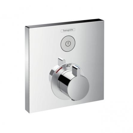 Hansgrohe ShowerSelect Термостат для душа встраиваемый без подключения шланга - 15762000