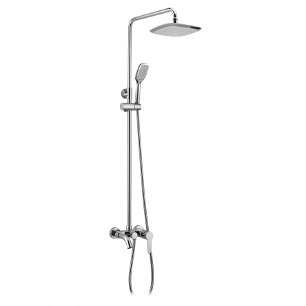 Imprese BILA DESNE система душевая (смеситель для ванны, верхний и ручной душ 3 режима, шланг 1,5м) - T-10155