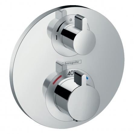 Hansgrohe Ecostat S Термостат с запорным/переключающим вентилем - 15758000