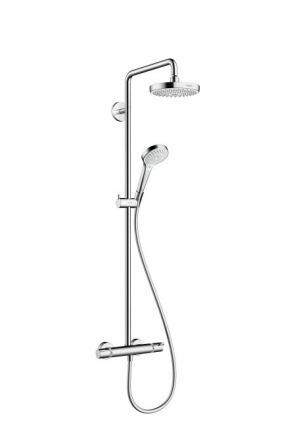 Hansgrohe Croma Select S 180 2jet Showerpipe Душевая система цв белый - 27253400