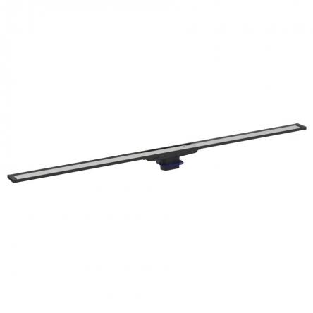 Geberit CLEANLINE20 дренажный канал, L30-90см, тёмный/матовый металл - 154.450.00.1