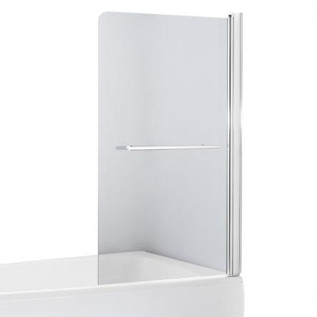 EGER Шторка на ванну 80*150см, стекло прозрачное, правая - 599-02R