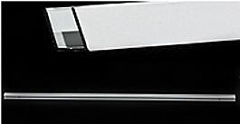 Kolo PIONER CKPG профиль настенный, цвет серебро - A150081SM