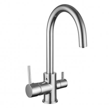 Imprese DAICY-U смеситель для кухни с подключением питьевой воды, хром - 55009-U