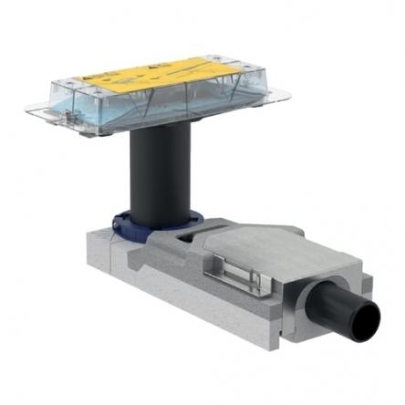 Geberit CLEANLINE набор для дренажных каналов, конструкции пола высотой от 65 мм, L30см - 154.152.00.1