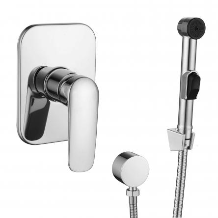 Imprese PRAHA new набор (смеситель скрытого монтажа с гигиеническим душем) - VR15030Z-BT