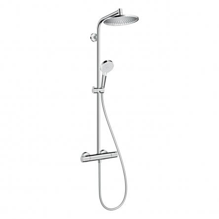 Hansgrohe Crometta S 240 1jet Showerpipe Душевая система c термостатом, хром - 27267000