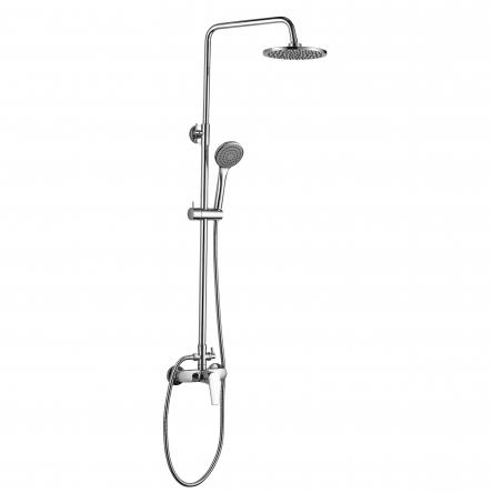 Imprese BILA SMEDA new система душевая (смеситель для душа, верхний и ручной душ 1 режим, шланг 1,5м) - T-15086