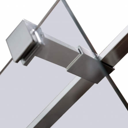 VOLLE Держатель стекла (Е) с креплениями, 300мм - 18-05E-30