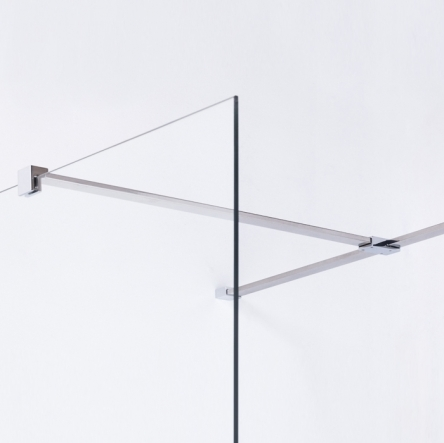 VOLLE Держатель стекла (F) с креплениями, 900мм - 18-05F-90
