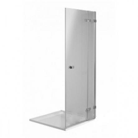 Kolo NEXT двери распашные 120 см, правые, закаленное стекло, хром/серебряный блеск, Reflex - HDRF12222003R
