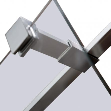 VOLLE Держатель стекла (Е) с креплениями, 100мм - 18-05E-10