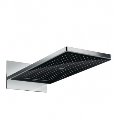 Hansgrohe Raindance Rainmaker Select 580 Верхний душ, чёрное стекло - 24001600
