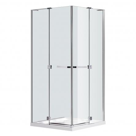Eger RUBIK душевая кабина 90*90*190см квадратная (стекла + двери), распашные двери, стекло прозрачное 8мм - 599-333/1(2 коробки)