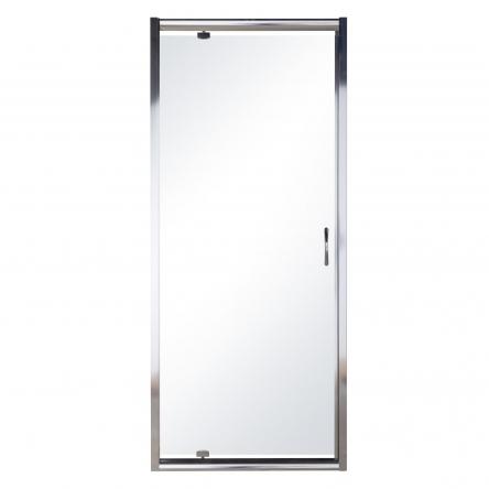 Eger Дверь в нишу 90*195см распашная, профиль хром, стекло прозрачное 5мм - 599-150-90(h)