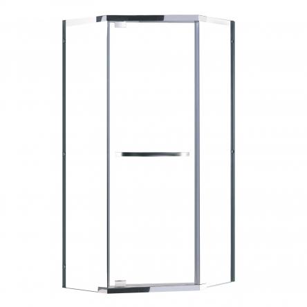 Eger TAL?NY душевая кабина 90*90*190см (стекла + двери), профиль хром, стекло прозрачное 10мм ВЫПИСЫВАТЬ с набором 599-555/3 - 599-555/1