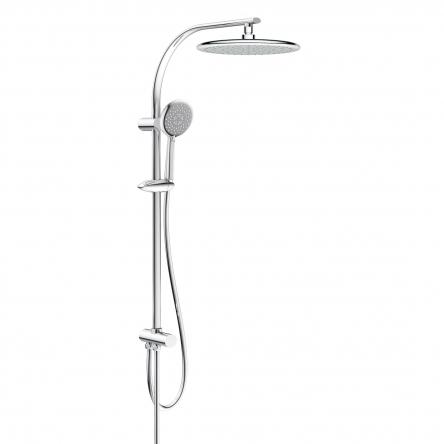 Imprese Система душевая без смесителя (верхний душ 250 мм, ручной душ 120 мм 3 режима, шланг) - T-15082