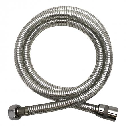RJ Шланг для душа 1,5 м, PVC хром-серый, ПЭпак : R45P