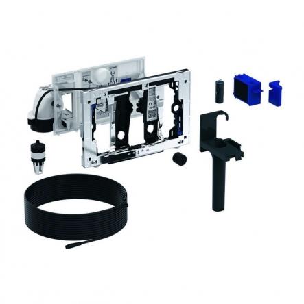 GEBERIT система очистки воздуха DuoFresh с ручным срабат-ем и контейнером для картриджа DuoFresh, для смыв. бачка скрыт. монтажа Sigma 12, хром - 115.051.21.1