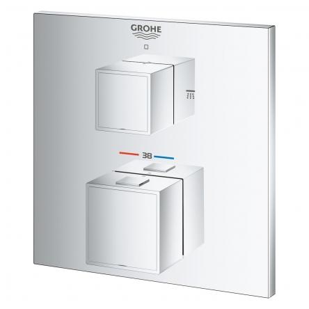 Grohe GROHTHERM Cube термостат для душа с переключателем - 24154000