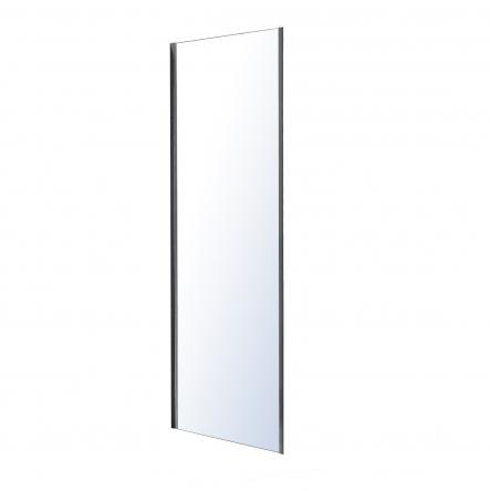Eger LEXO стенка боковая 80*195см для комплектации с дверью, прозрачное стекло 6мм, хром - 599-800/1
