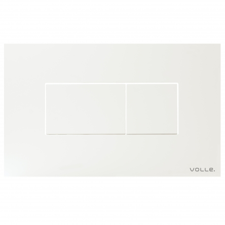 VOLLE ALTO NEO клавиша смыва, белая, пластик - 221919